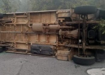 1 dead, 8 critically injured as BBSR-bound tourist bus overturns in Gajapati district
