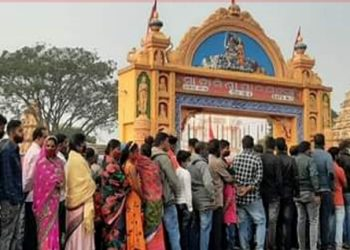 After 10 months, Ghatagaon Tarini Temple opens its doors to devotees