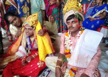 Beating all odds visually-impaired couple ties nuptial knot in Cuttack district