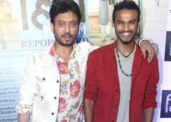 Irrfan and Babil