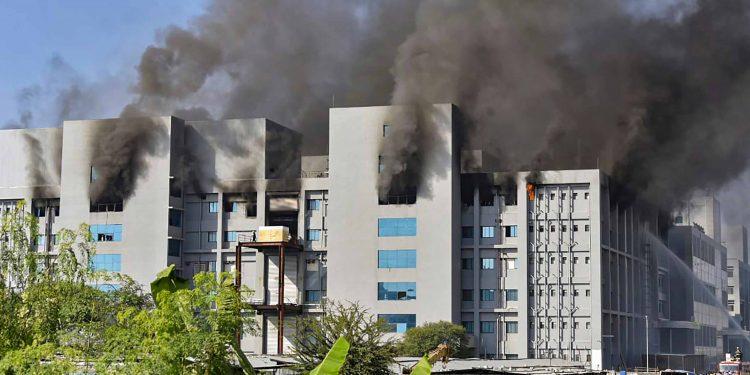 Serum Institute fire