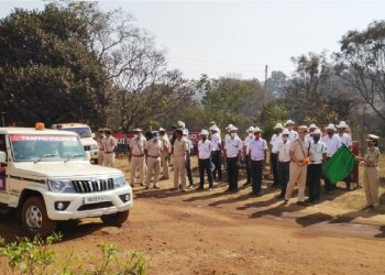 Special traffic control unit for Keonjhar mining areas