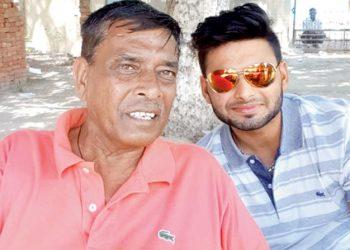 Tarak Sinha and Rishabh Pant