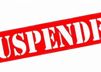 Three officers suspended for misappropriation of fund