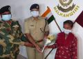 Woman Maoist surrenders before police in Malkangiri