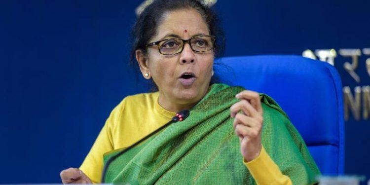 File photo of Union Finance Minister Nirmala Sitharaman. (PTI Photo)