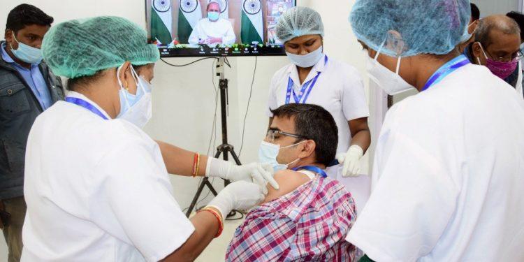 File photo of Covid vaccination