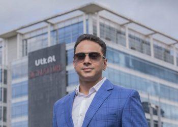 Managing Director of Utkal Builders Ltd, Sharad Baid. (PC: Ashutosh Photo Magic)