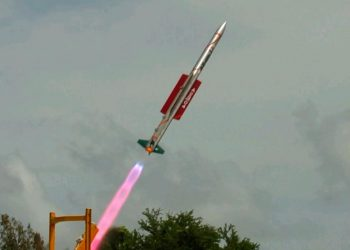 VL-SRSAM missile successfully test fired from Chandipur test range