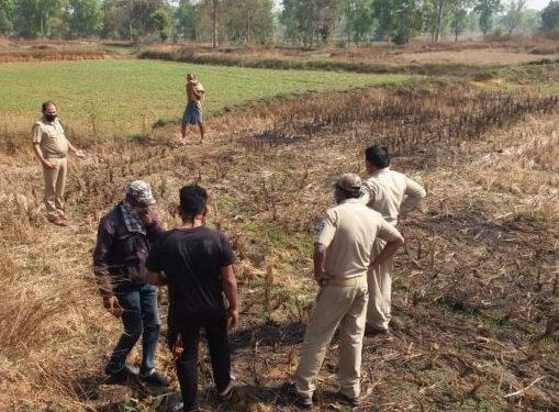 Woman's charred body recovered in Sonepur