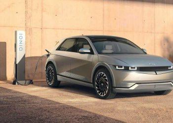 Hyundai unveils first model based on own EV platform. Pic - Hyundai