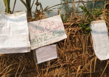 Death threats issued to 28 villagers through posters in Rayagada district