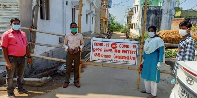 'Containment Zones' declared in Gajapati, Keonjhar districts