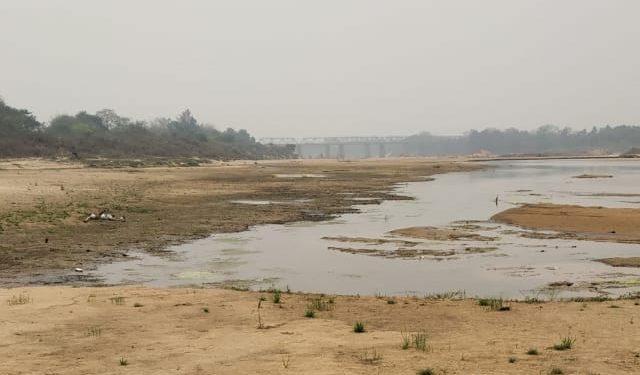 Subarnarekha water level sinks