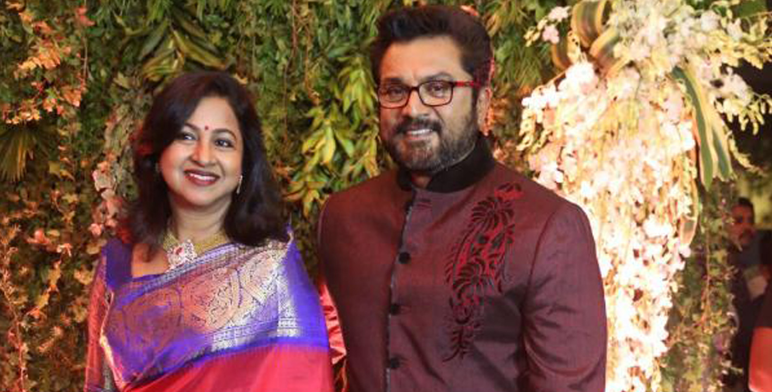 Actor couple Sarathkumar-Radhikaa sentenced to one year imprisonment in  cheque bounce case - OrissaPOST