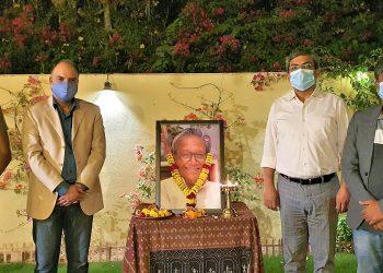 Non-Resident Odias pay homage to Manoj Das
