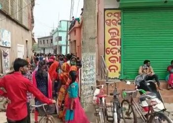 Police close clothes shop in Balasore district after huge crowds gather due to 'discount' sale