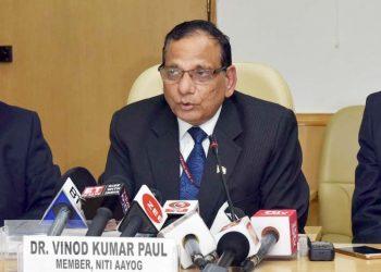 NITI Aayog Member Health VK Paul