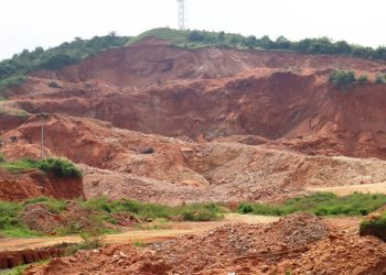 A hill in Khurda is about to lose its existence due to illegal quarrying in the region op photo