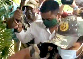 Gajapati SP's clean chit to DFO Sangram Keshari Behera