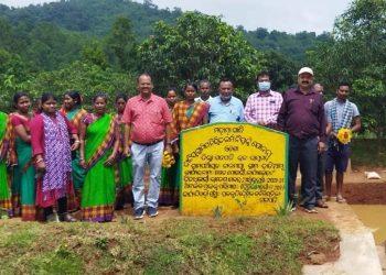 Director, Soil Conservation, visits Gajapati