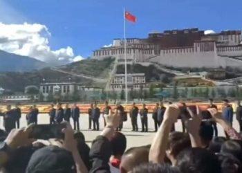 Chinese President makes surprise visit to Tibet (pic credit: https://savetibet.org/)