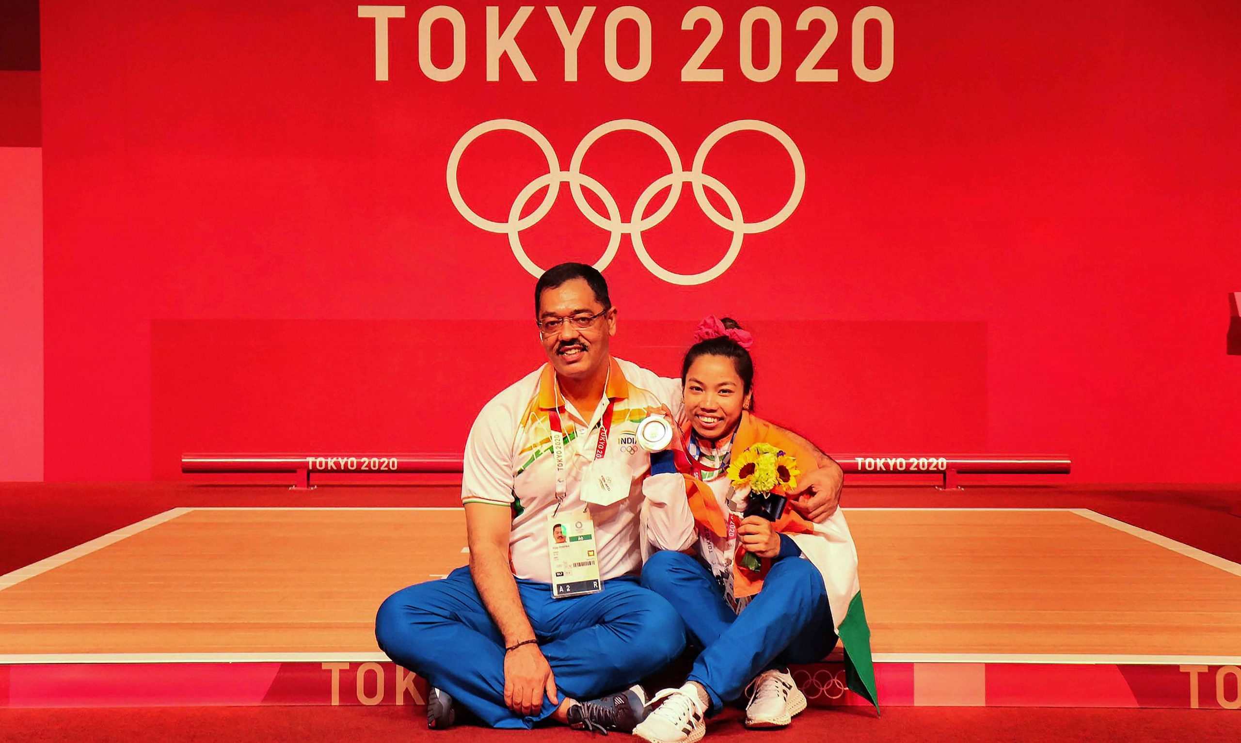 Mirabai and coach