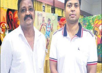 Odisha artists' paintings at Tokyo Olympics