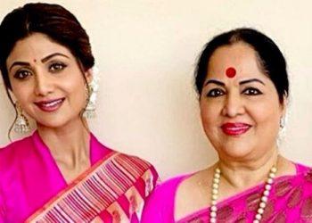 Shilpa Shetty and mom