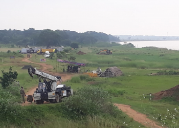 Construction of mega drinking water project begins in Kendrapara amid protests; Sec 144 imposed, over 100 arrested