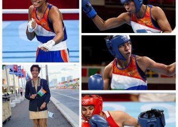 Lovlina Borgohain Olympic bronze medal