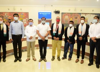 National Sports Day Govt felicitates winners of Biju Patnaik Award for Sports & Bravery