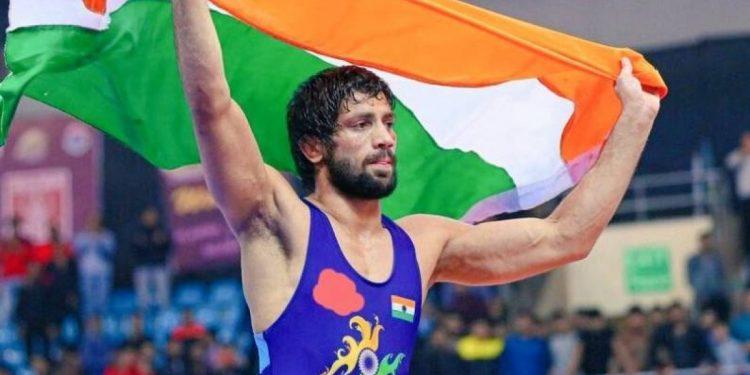 Wrestler Ravi Dahiya