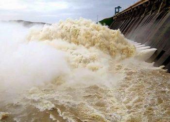 Hirakud dam's six more gates closed