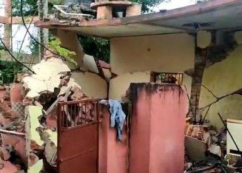 Massive explosion pulls down Balanga police station in Puri district, no causalities