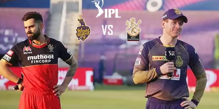 RCB win toss and elect to bat first against KKR