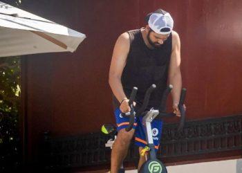 Rohit Sharma begins training for IPL in quarantine
