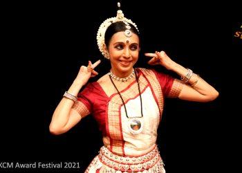 Odissi dancer Sharmila Mukherjee