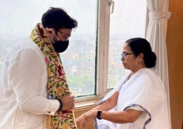 Babul Supriyo meets Mamata Banerjee after joining TMC