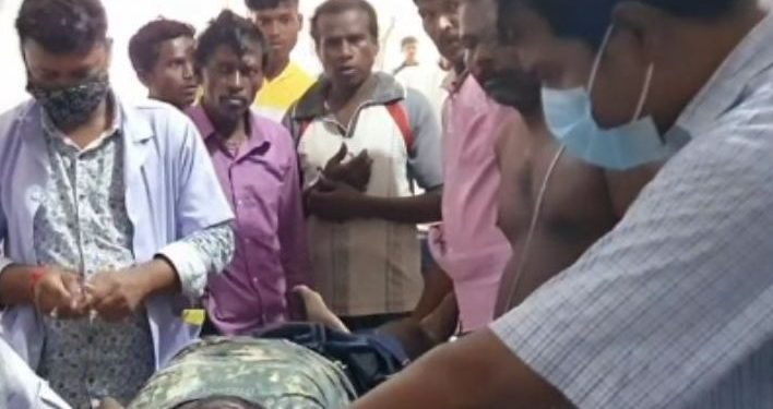 Youth rescued from jaws of python in Keonjhar district