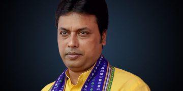 File photo of Tripura CM Biplab Kumar Deb (PC: shortpedia.com)