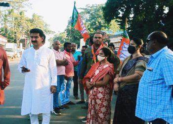 Mamita Meher murder BJP observes 12-hour bandh in Bolangir