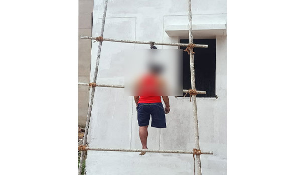 Physically challenged person's body found hanging at SVNIRTAR